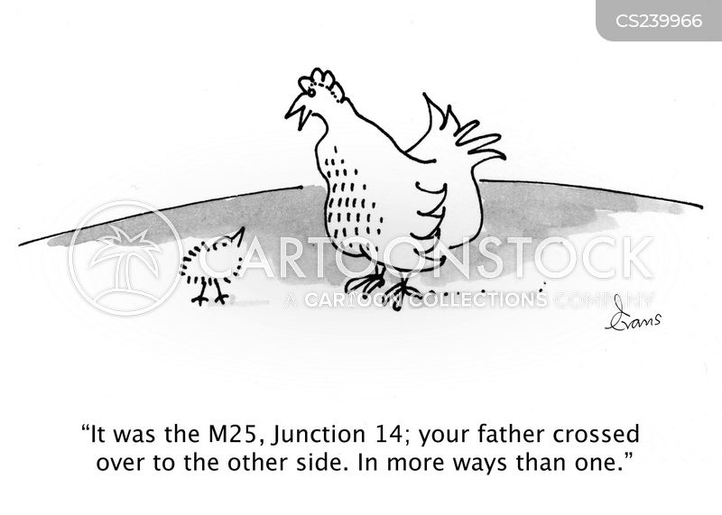 Chicken Jokes For Adults: Other Side Cartoons And Comics