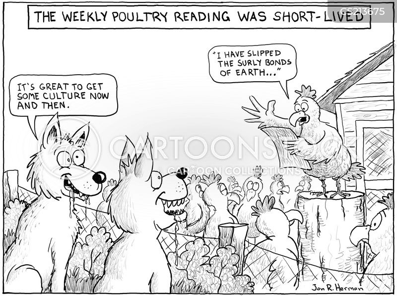 literary club cartoon