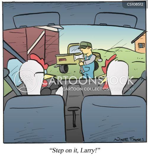 slaughterhouse cartoon