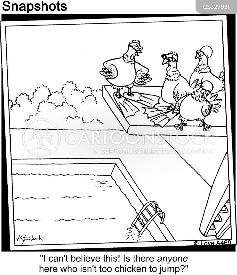 high divers cartoon