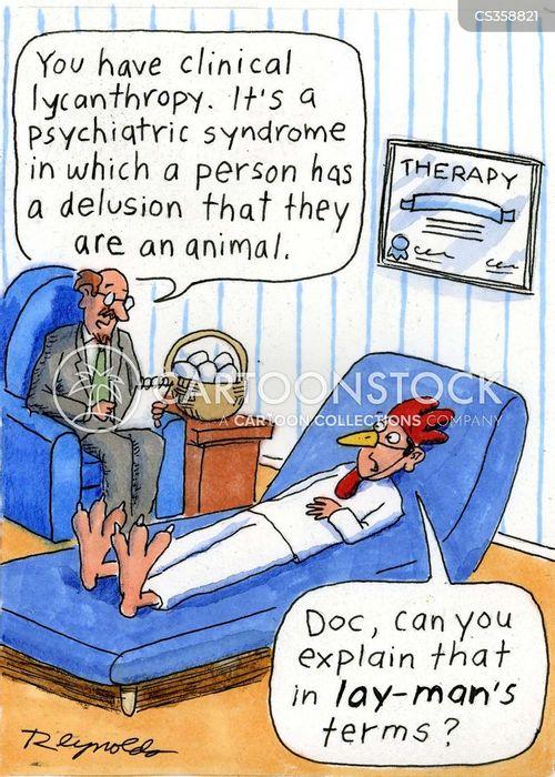 lycanthropy cartoon