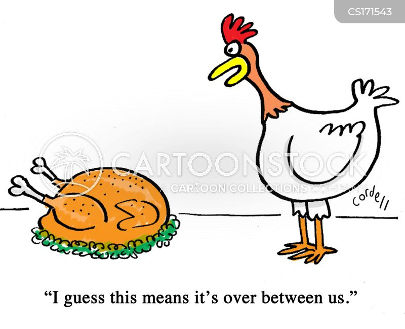 Roast Chicken Cartoon 2 Of 47