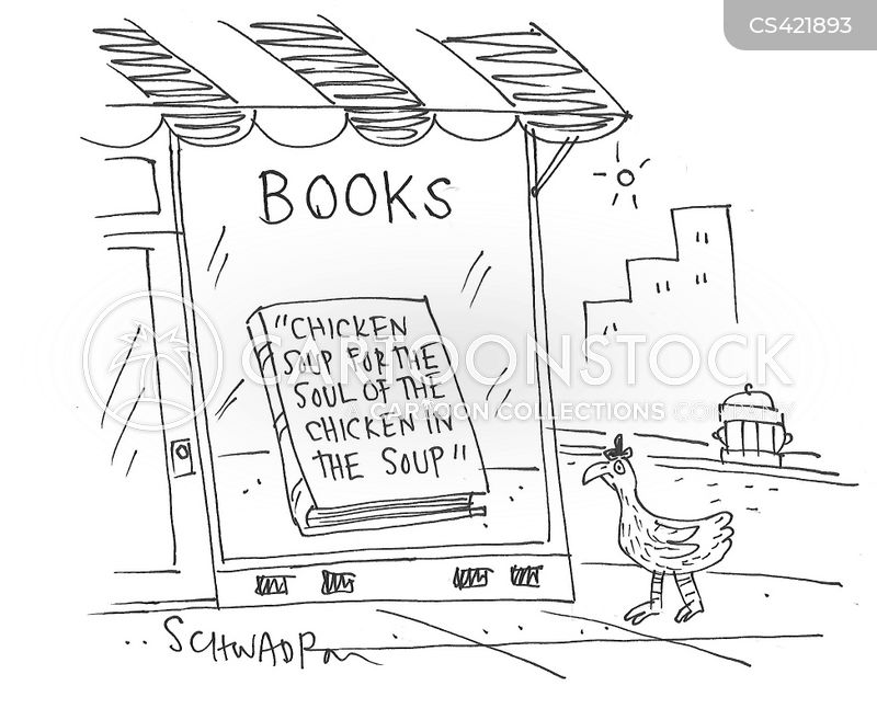 chicken soup cartoon