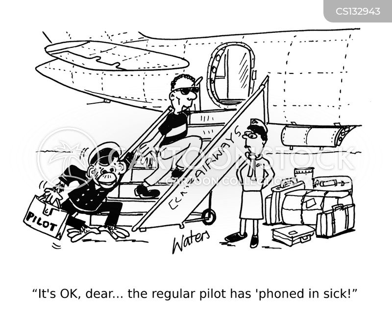 flying planes cartoon
