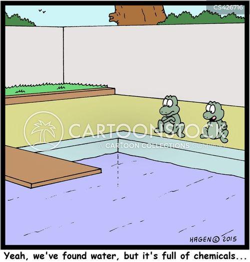water source cartoon