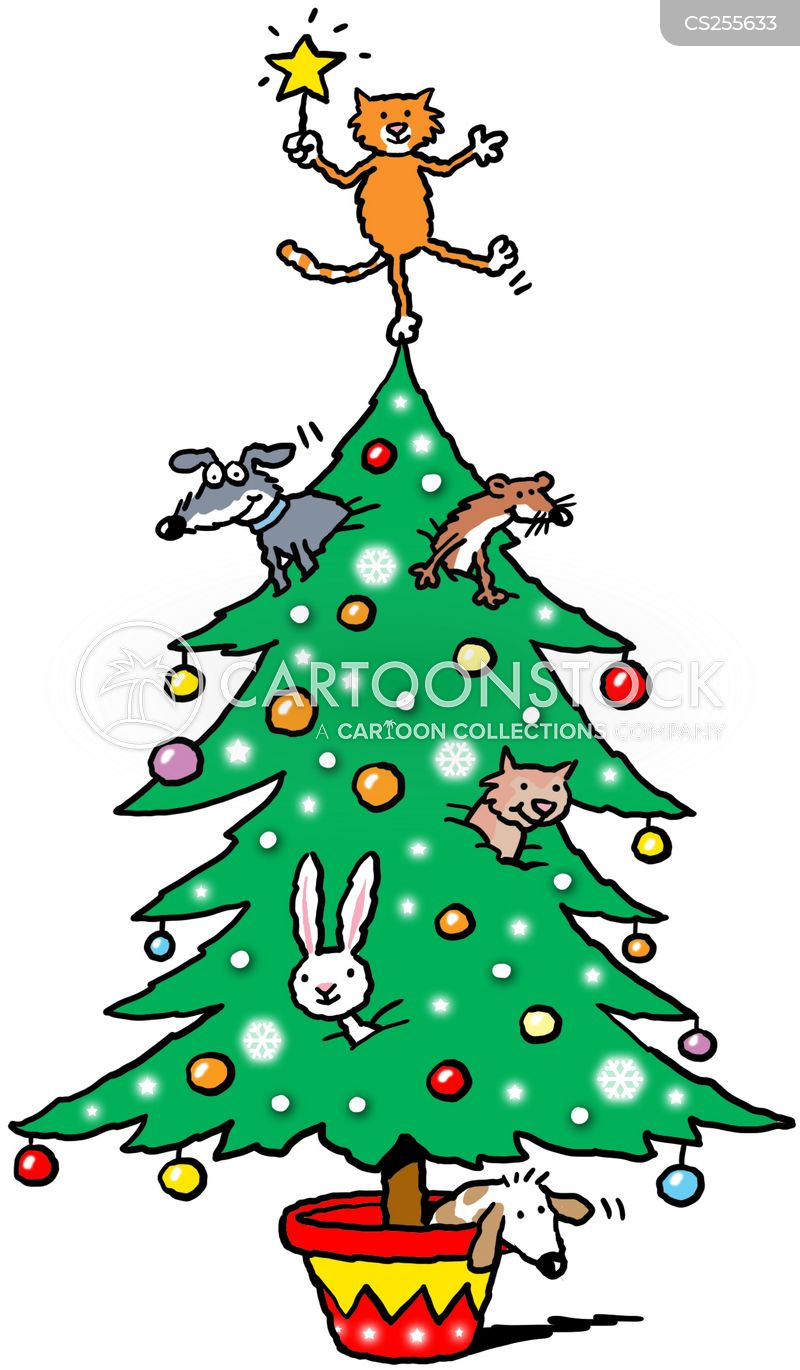 Image result for pet christmas cartoons