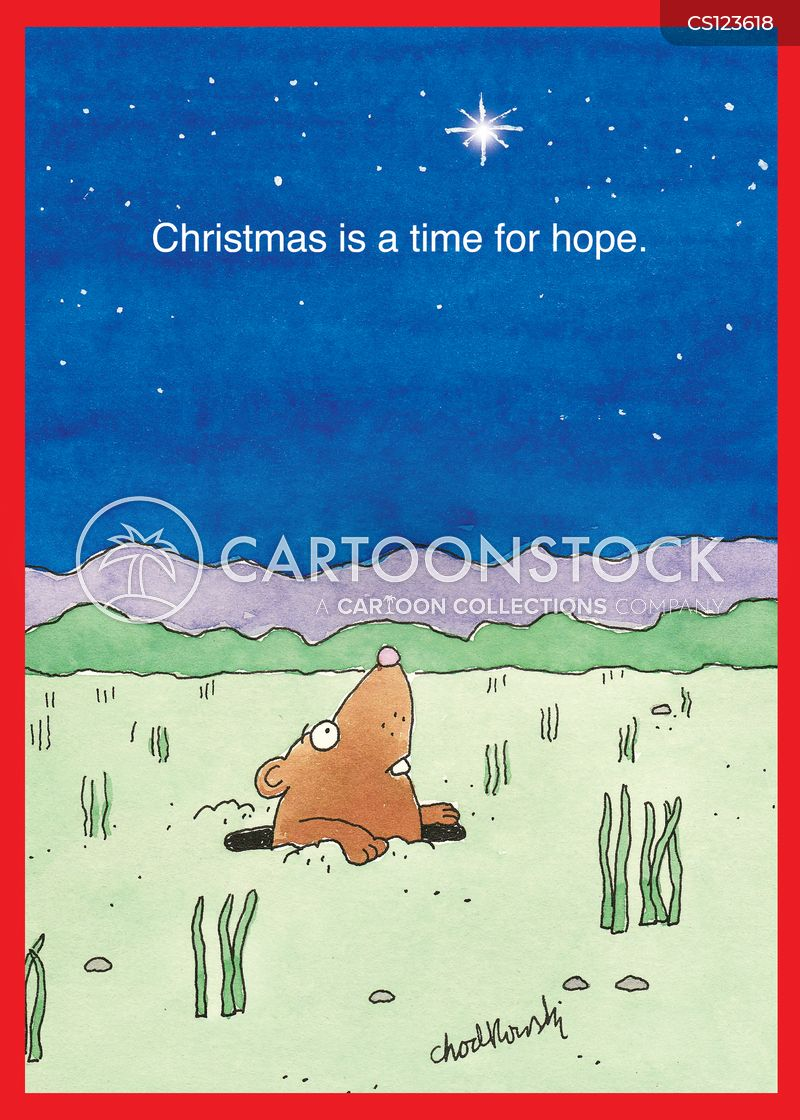 christmas star cartoon