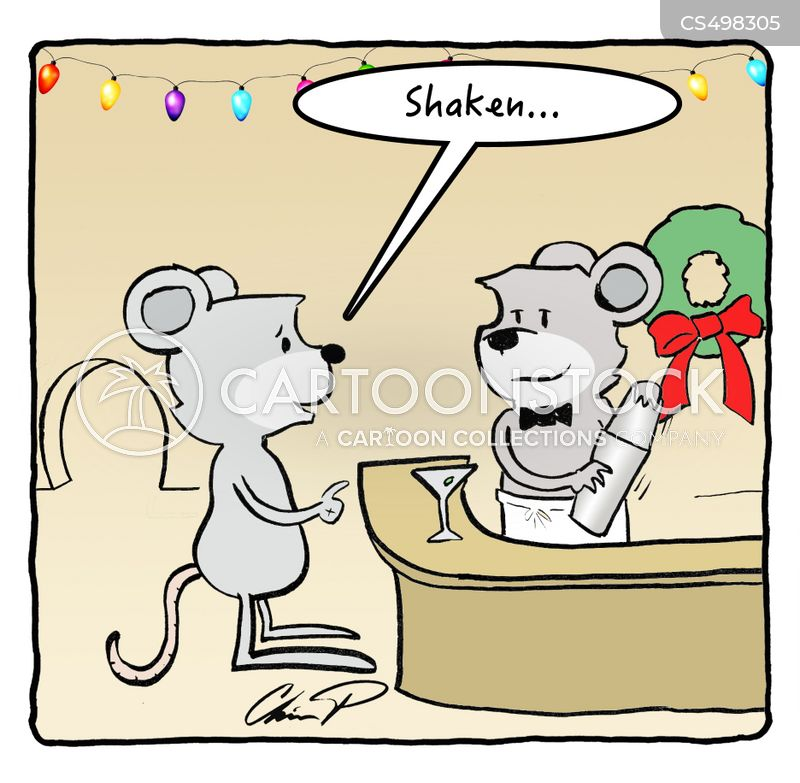 a visit from st. nicholas cartoon