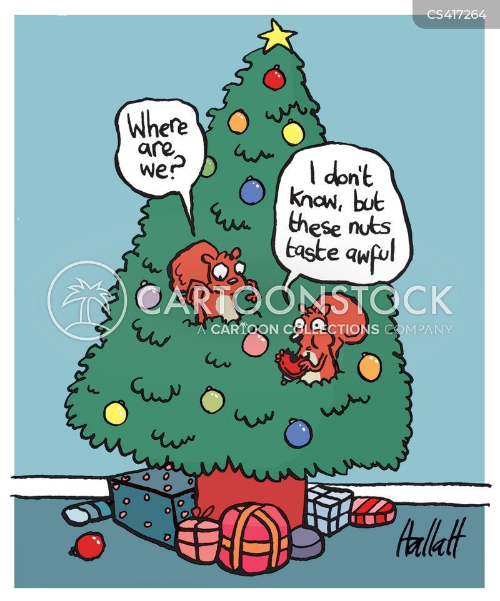 festive food cartoon