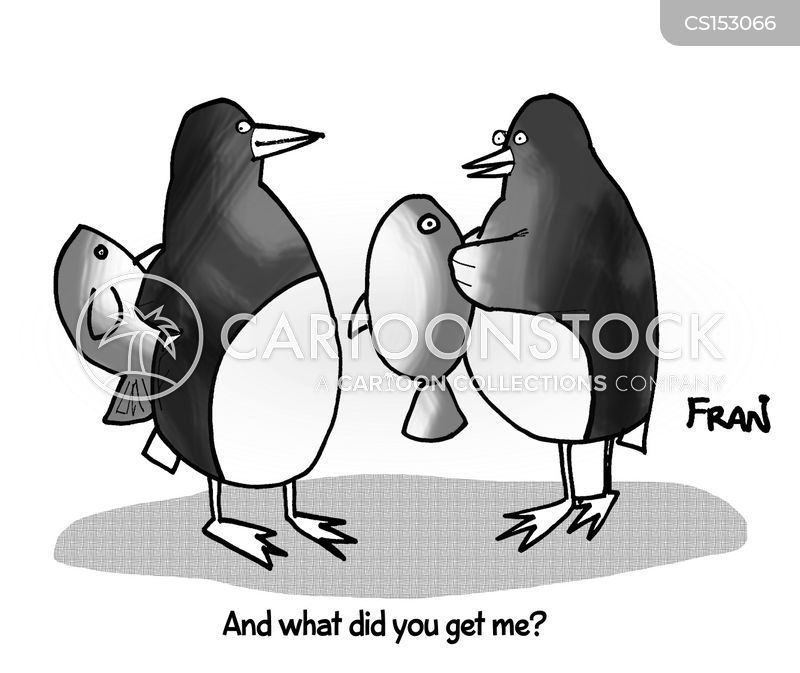 penguin colonies cartoon