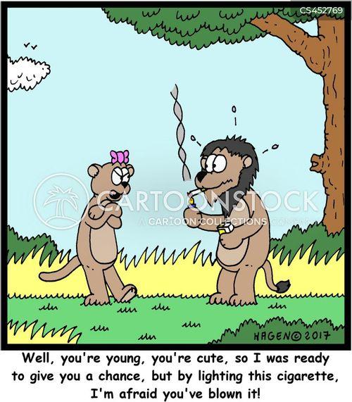turnoffs cartoon