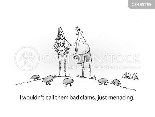menacing cartoon