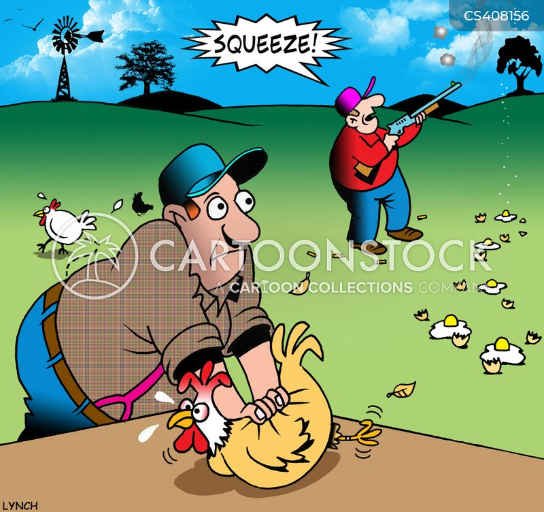 clay pigeons cartoon