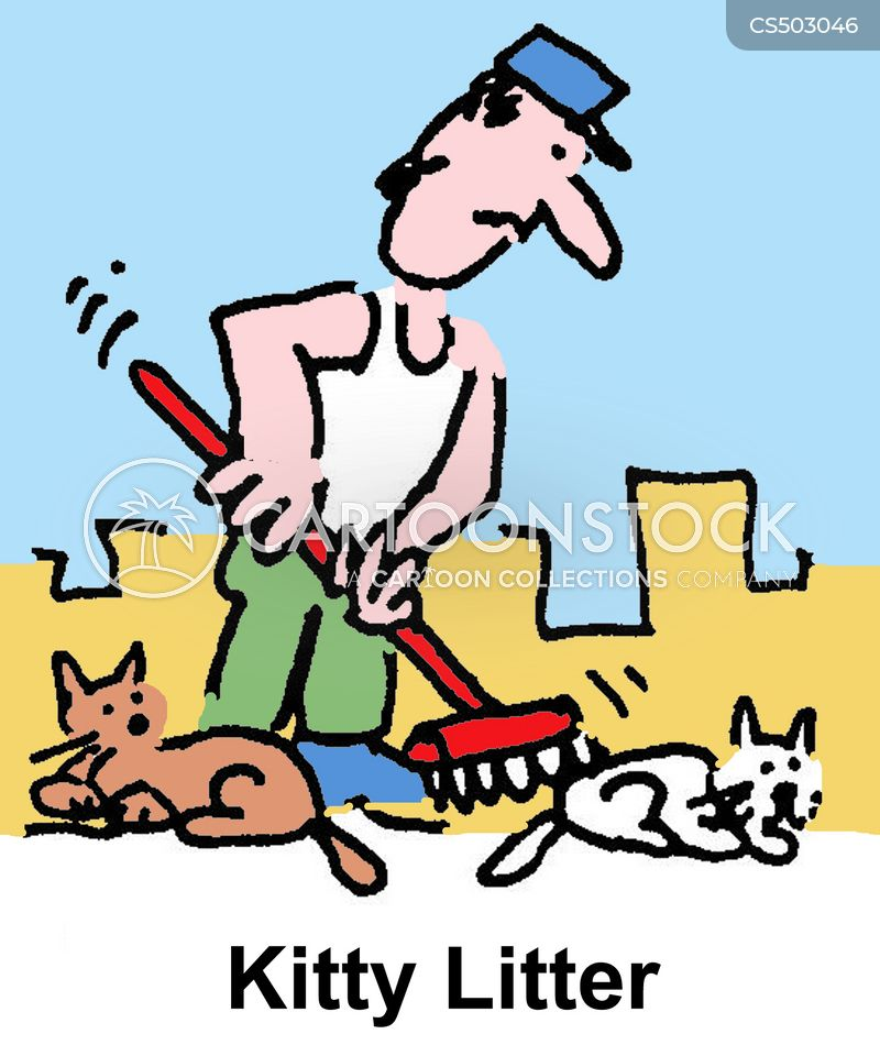 kitty litters cartoon