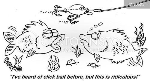 clickbait cartoon