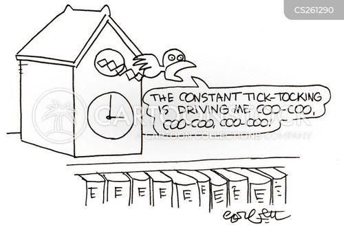 ticking cartoon