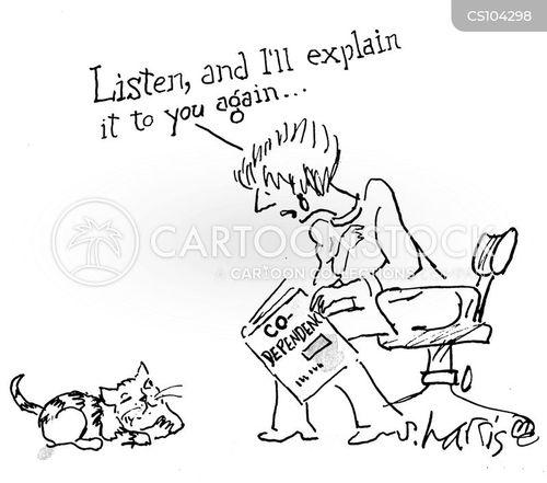 codependence cartoon