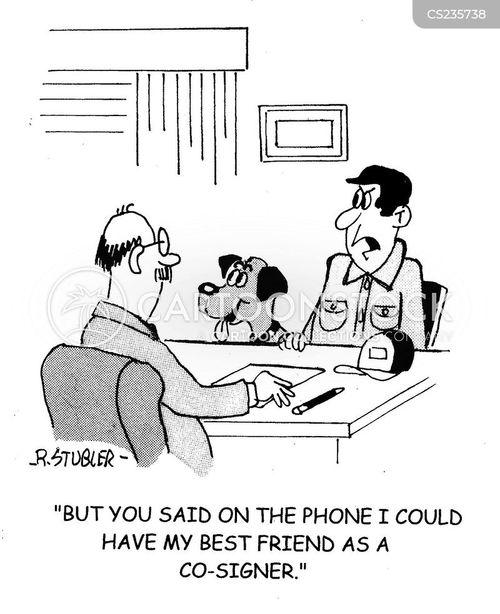 co-signer cartoon
