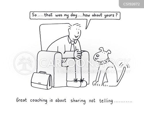 telling cartoon