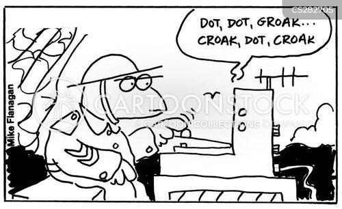 croaks cartoon