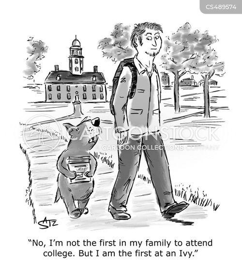 college degrees cartoon