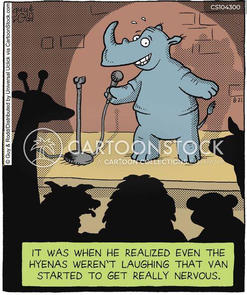 microphones cartoon