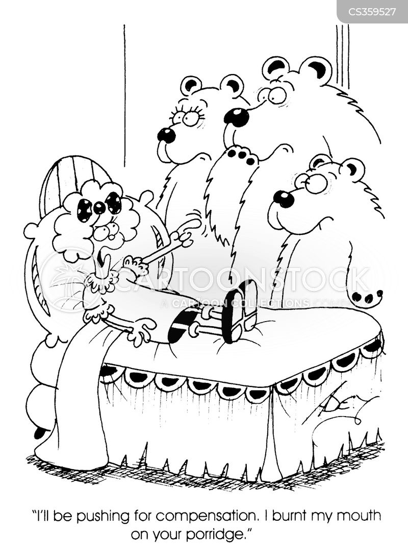 3 bears cartoon
