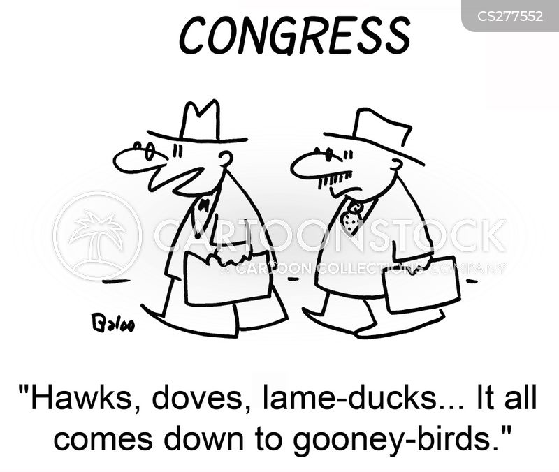 lame-ducks cartoon