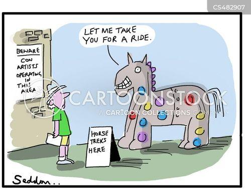 easy marks cartoon