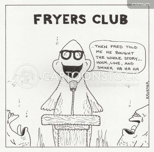 service club cartoon