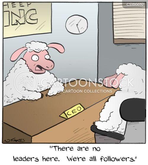 herd mentality cartoon