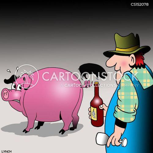 wine cork cartoon