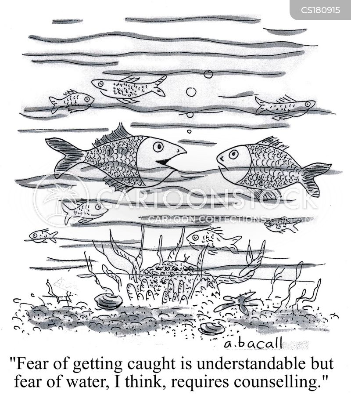 phobic cartoon