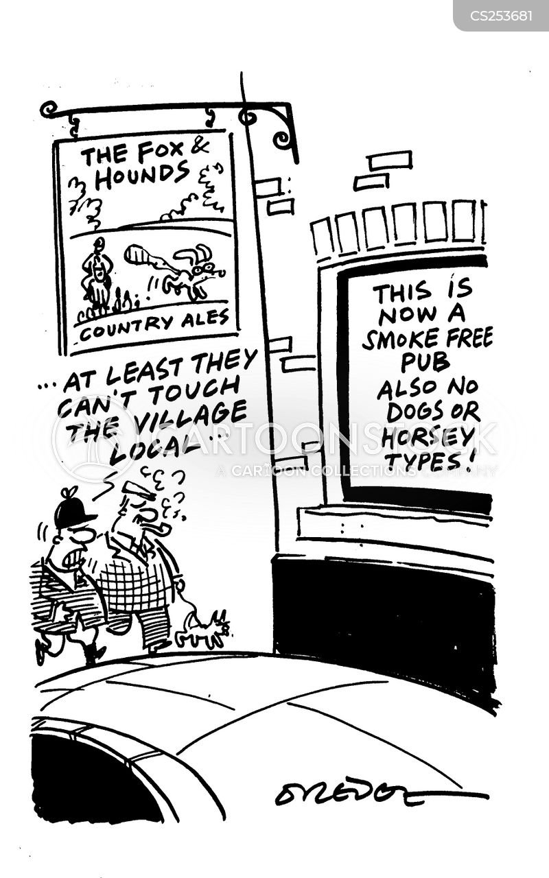 countryside alliance cartoon
