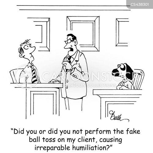 ball thrower cartoon