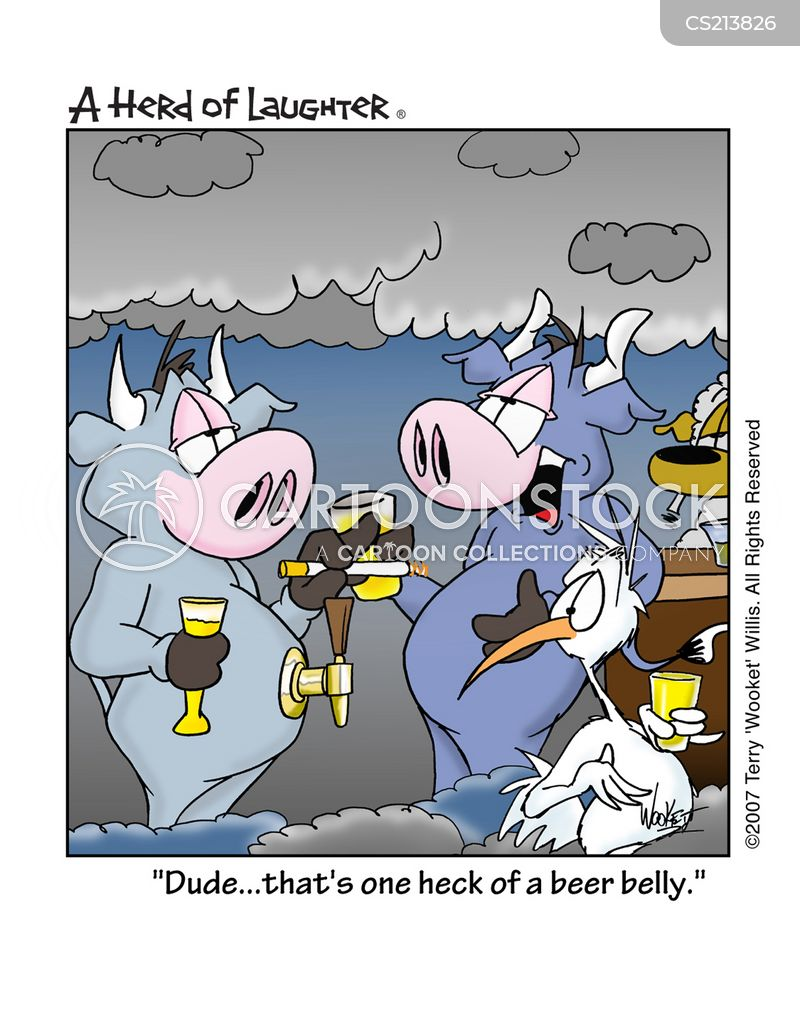 on tap cartoon