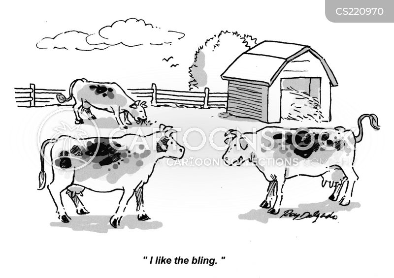 farmyard animals cartoon