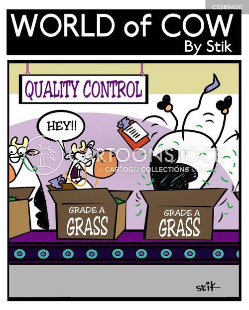 eat grass cartoon
