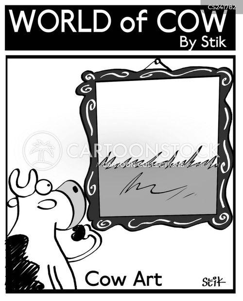 pastoral cartoon