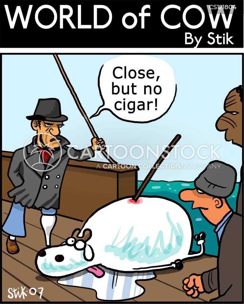 close but no cigar cartoon