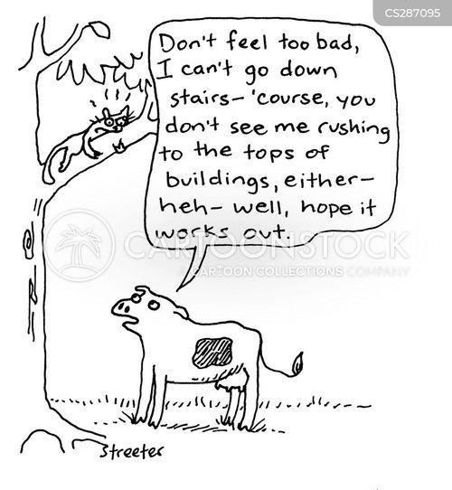 climbing trees cartoon
