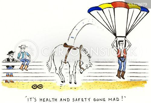 parachuted cartoon