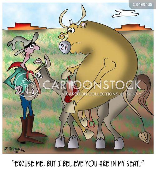 wrangler cartoon