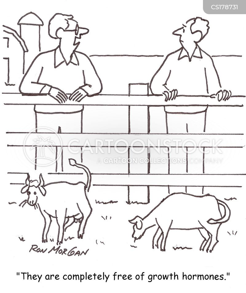 dairy farmers cartoon