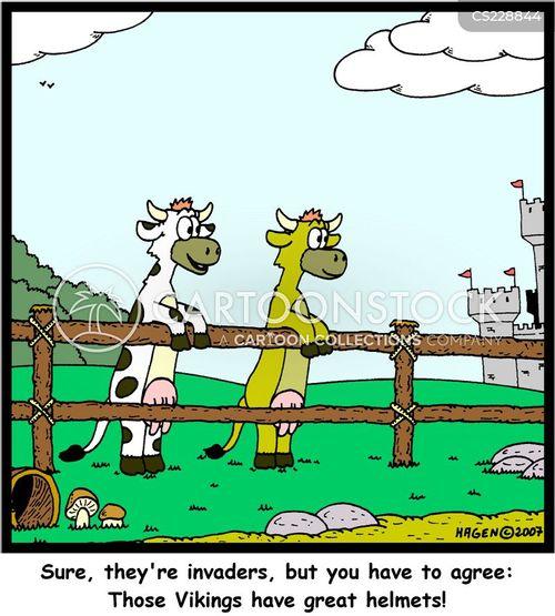 viking invasions cartoon