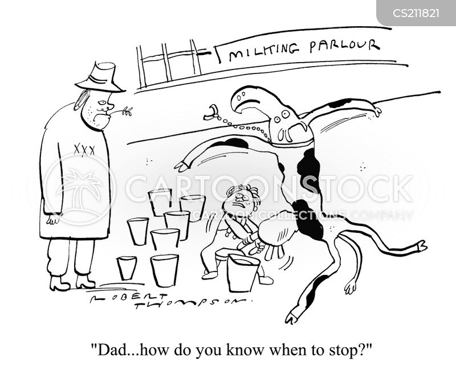draining cartoon
