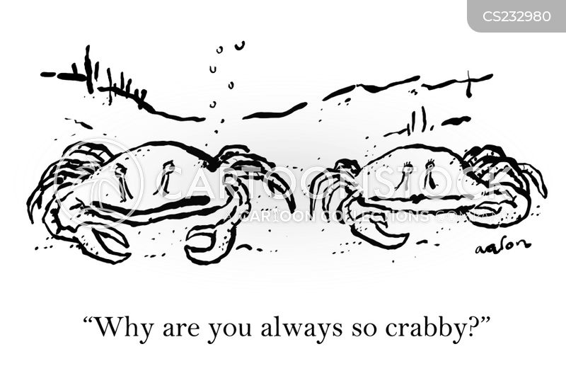 crustaceans cartoon