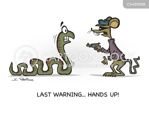 bandits cartoon