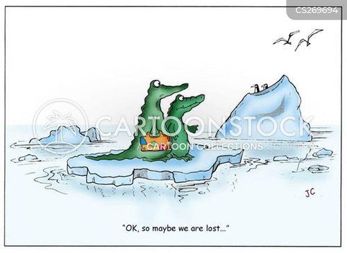 ice berg cartoon