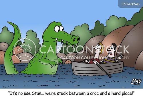 bad situation cartoon